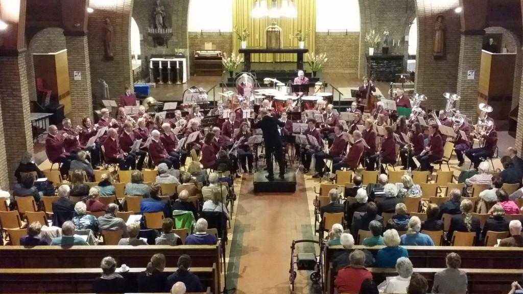 Harmonie Soli in de Naaldkerk, Santpoort-Noord