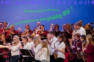 Velsen, 14 maart 2015. Schouwburgconcert Muziekvereniging Soli
