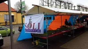 Hyacintenbollenactie op de Kerstmarkt in Santpoort